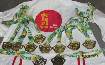 Delariva Porto Alegre e Delariva Pantâno Grande unem forças e conquistam a 1ª Etapa do Estadual Kids de Jiu-Jitsu do Rio Grande do Sul